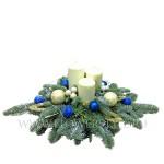 флористика мастер-класс новогодняя композиция из цветов