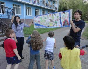 Анна Усатенко волонтер